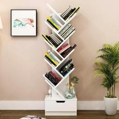 کتابخانه دکوری آبشار کشاب دار