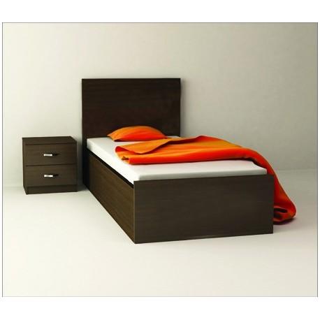 تخت خواب یک نفره ساده