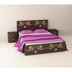 تخت خواب دو نفره فلاور