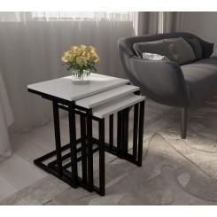 میز عسلی ۳ تیکه مدل دینا